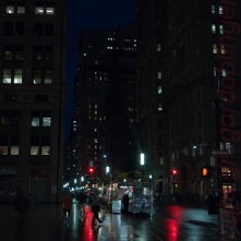 rainy new york 2009